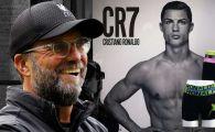 Moment socant in vestiarul lui Liverpool: Klopp a aparut imbracat in chilotii lui Ronaldo! Ce le-a spus jucatorilor