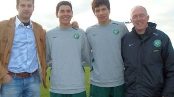 Acum 14 ani juca pentru ei, aseara le-a dat lovitura de gratie! Cum arata George Tucudean pe vremea cand dadea probe in Scotia si de ce nu a ramas la Celtic: FOTO