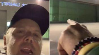 """Lars Ulrich, tobosarul Metallica, surprins cand a vazut ca Tiriac are companie aeriana: """"Juca tenis cu tata!"""""""