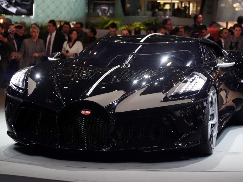 Bugatti La Voiture Noire, cea mai scump masina vanduta vreodata: 17 milioane euro! Ronaldo, suspectat ca e noul proprietar. FOTO