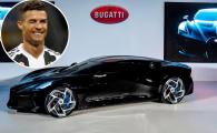 Bugatti La Voiture Noire, cea mai scumpa masina vanduta vreodata: 17 milioane euro! Ronaldo, suspectat ca e noul proprietar. FOTO