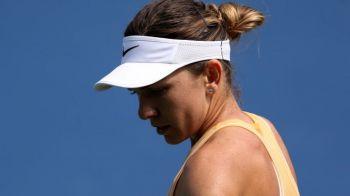 """Simona Halep, prima reactie dupa ce a fost eliminata de Madison Keys la Cincinnati: """"A jucat incredibil"""" Ce probleme a avut"""