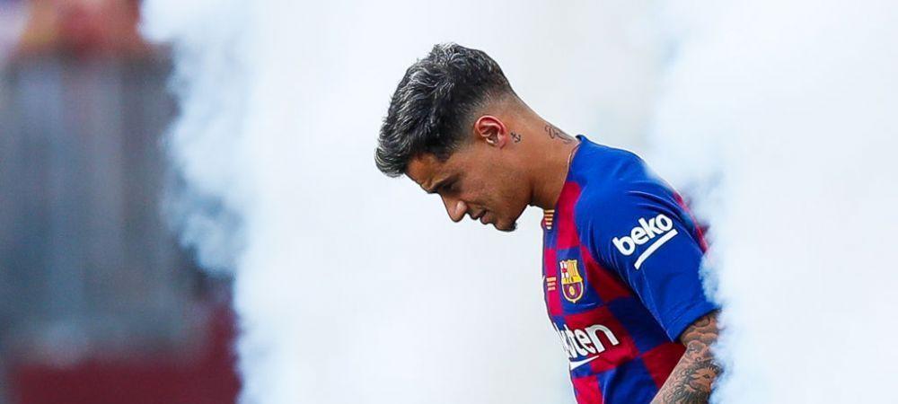 Coutinho, OUT din lotul Barcelonei pentru primul meci al sezonului! Un oficial al Barcei a confirmat acordul cu Bayern