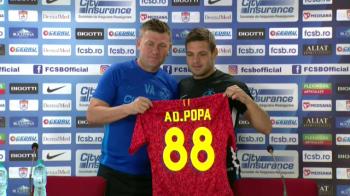"ADI POPA, INAPOI LA FCSB | ""Daca joc bine, nu ma scoate nimeni din echipa!"" Primul anunt dupa revenirea la FCSB"