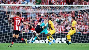 BILBAO - BARCELONA 1-0 | FABULOS! Aduriz a inscris din FOARFECA la un minut dupa ce a intrat pe teren! VIDEO