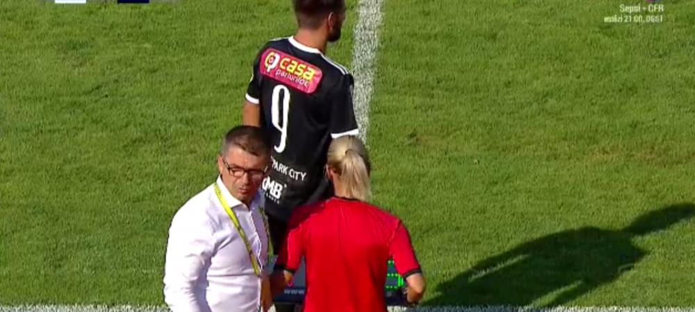 """""""Cine esti? Treci inapoi pe banca!"""" Momente INCREDIBILE in liga a 2-a la FC Arges - U Cluj! Ce s-a intamplat cand un jucator a vrut sa intre pe teren"""
