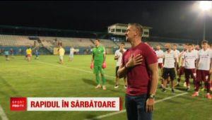 "Pancu si-a serbat ziua pe teren, Rapid a facut scor cu Berceni: ""Vom face tot posibilul sa promovam!"""