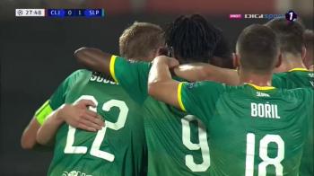 CFR CLUJ - SLAVIA PRAGA 0-1   La un MIRACOL de grupele UEFA Champions League! Omrani a ratat un penalty, Stanciu a dat pasa decisiva la golul cehilor! Toate fazele partidei