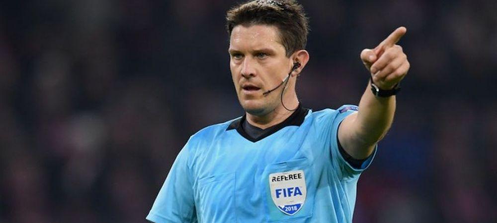 FCSB - VITORIA GUIMARAES JOI 21:30 PRO TV | Un arbitru care a mai condus FCSB-ul in grupele Ligii Campionilor, trimis de UEFA la Giurgiu!