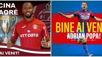 TOATE transferurile realizate in Liga 1! Lacina Traore la FCR Cluj, Budescu la Astra si Adi Popa la FCSB, ultimele mutari