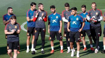 SOC la nationala Spaniei inaintea CUTREMURULUI cu Romania din preliminariile EURO 2020! Decizia luata de noul selectioner: jucatorul a fost anuntat deja