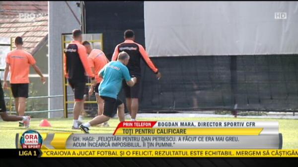 """EXCLUSIV   Oferta de 3.500.000 pentru un jucator de la CFR! Raspunsul dat de oficialii campioanei. Mara: """"Vom vedea ce se mai intampla dupa dubla cu Slavia"""""""