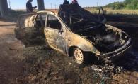 Un tânăr din Medgidia și-a dat foc în mașină, din cauza tatălui său. Și-a filmat mesajul de adio