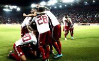 I-au RUPT in 12 minute! Olympiakos, ca si calificata in Champions League dupa 4-0 cu Krasnodar! Young Boys 2-2 Steaua Rosie   Dinamo Zagreb 2-0 Rosenborg
