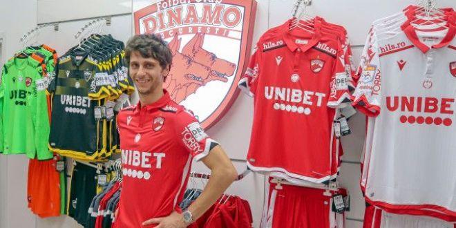 OFICIAL! Fabbrini a trecut vizita medicala si a semnat cu Dinamo:  Suntem intr-o situatie dificila, avem nevoie de cateva victorii!