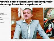 """Gigi Becali, distrus in presa din Portugalia de Carlos: """"Nu are habar de fotbal! Se crede conducatorul lumii!"""" Ce facea patronul in vestiar"""