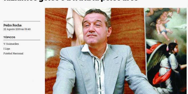 Gigi Becali, distrus in presa din Portugalia de Carlos:  Nu are habar de fotbal! Se crede conducatorul lumii!  Ce facea patronul in vestiar
