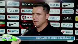 """Noul antrenor al FCSB-ului?! Gigi Becali...va va spune"" :)) Reactia lui Narcis Raducan dupa 0-0 cu Guimaraes! Ce spune despre noul antrenor"