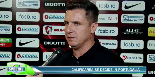 Noul antrenor al FCSB-ului?! Gigi Becali...va va spune  :)) Reactia lui Narcis Raducan dupa 0-0 cu Guimaraes! Ce spune despre noul antrenor