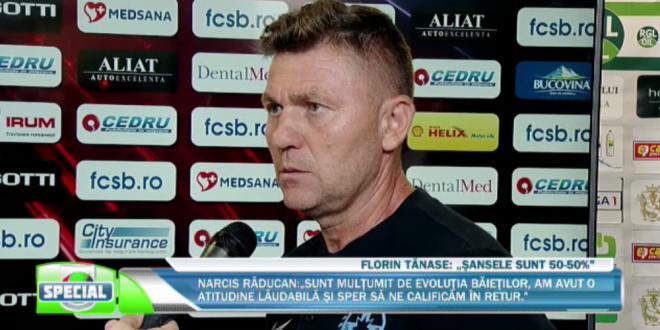 FCSB - VITORIA GUIMARAES 0-0 |  Daca era 2-0 la pauza nu se supara nimeni  Andronache, la ultimul meci ca principal:  Voi munci la fel din orice postura