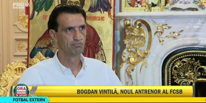 LIVE VIDEO | Prezentarea oficiala a lui Bogdan Arges Vintila, noul antrenor de la FCSB:  E o provocare, jucatorii si-au pierdut calea!