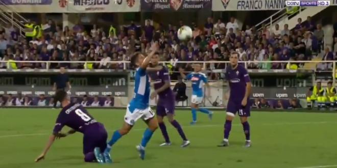Si cu VAR si TOT DEGEABA! Penalty HALUCINANT dat in Serie A intr-un meci DEMENT! Ce s-a intamplat la Fiorentina - Napoli