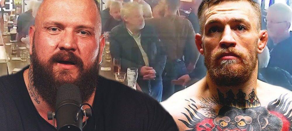 Cine vrea sa il bata pe McGregor, dupa ce a lovit un batran intr-un pub! Conor a mai avut probleme cu mafiotii
