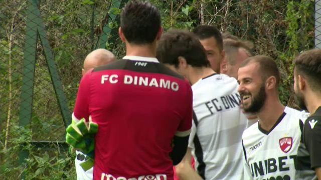 Primul semn bun dupa DEZASTRUL din startul sezonului! Dinamo s-a antrenat azi sub curcubeu! Fabbrini poate debuta maine, cu Hermannstadt
