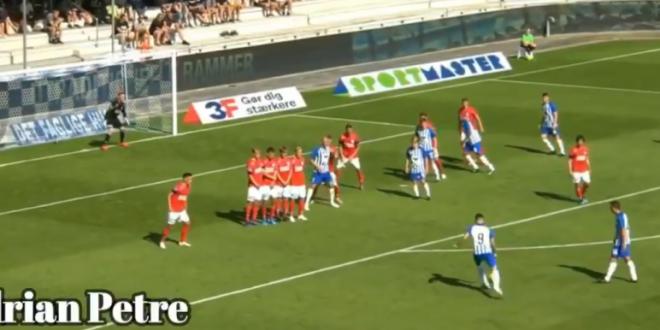 Gol SUPERB marcat de bombardierul Adi Petre!!! A reusit o dubla in Danemarca. VIDEO