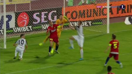 Seara INFERNALA pentru Vlad! A gresit la gol, apoi s-a accidentat si a trebuit sa iasa din teren. Edi Iordanescu l-a luat in brate