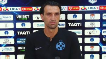 "Bogdan Vintila a rabufnit dupa 0-4 la debut: ""Fiti barbati!"" Ce mesaj le-a transmis jucatorilor inainte de returul cu Guimaraes"