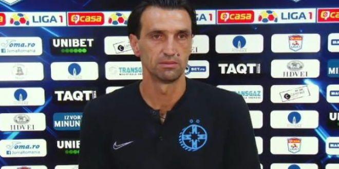 Bogdan Vintila a rabufnit dupa 0-4 la debut:  Fiti barbati!  Ce mesaj le-a transmis jucatorilor inainte de returul cu Guimaraes