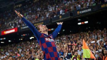 PRAF DE STELE! Griezmann, debut STELAR pe Camp Nou: dubla si pasa de gol. Francezul s-a bucurat ca LeBron James. VIDEO