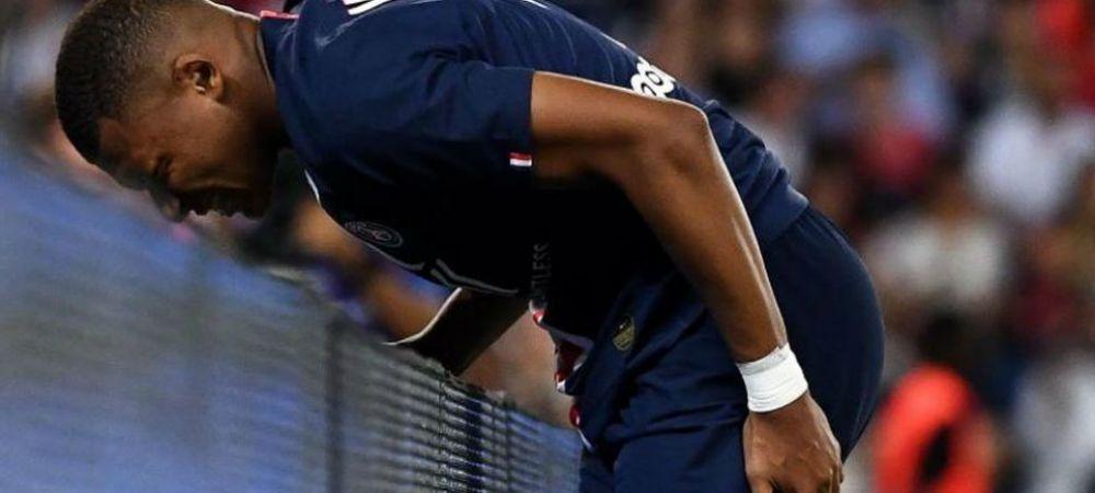 Lovitura pentru PSG: Mbappe, accidentat, lipseste o perioada lunga! Anuntul facut de francezi