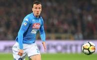 Vlad Chiriches PLEACA de la Napoli! Fundasul roman a batut palma cu o adversara din Serie A