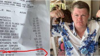Cum a reactionat o legenda a boxului dupa ce a comandat din greseala o friptura de 1000 euro la restaurant. FOTO