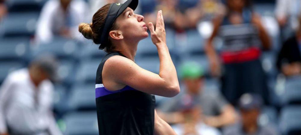 """SIMONA HALEP US OPEN   """"Voi lupta pentru asta!"""" Promisiunea facuta de Simona Halep dupa primul meci castigat in 3 ani la US Open! Ce vrea romanca pana la finalul anului"""