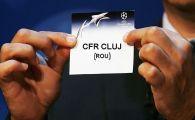 Englezii au simulat tragerea la sorti pentru grupele UEFA Champions League! Cu cine ar putea juca CFR Cluj