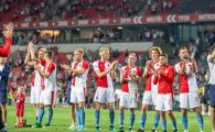 "SLAVIA PRAGA - CFR 1-0 | ""Euforie la Praga!"" Presa din Cehia, in extaz dupa ce Slavia a eliminat-o pe CFR: ""Vom juca din nou in grupele Champions League dupa 12 ani"""