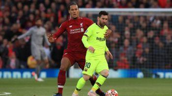 UEFA THE BEST | Van Dijk vs Messi, primul duel al sezonului! Cele 5 premii acordate astazi, dupa tragerea la sorti pentru grupele UEFA Champions League