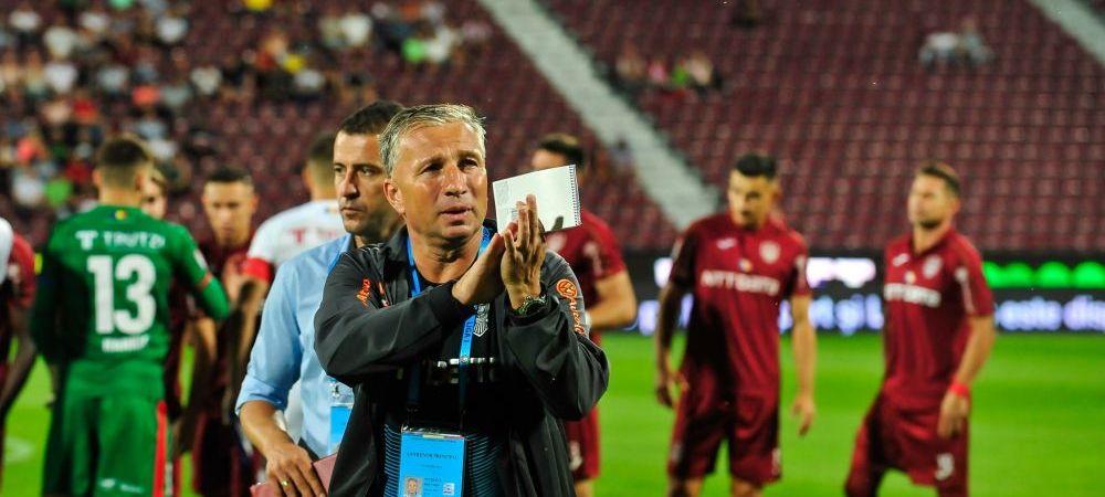 Pleaca Dan Petrescu de la CFR Cluj? Fara mirajul Ligii Campionilor, antrenorul poate accepta ofertele de milioane pe care le-a primit