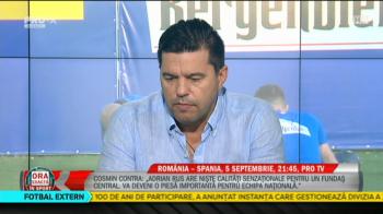 ROMANIA - SPANIA, PROTV! Mitrita, sanse mici sa mai prinda nationala! Contra a vorbit si despre situatia lui Florin Tanase. VIDEO