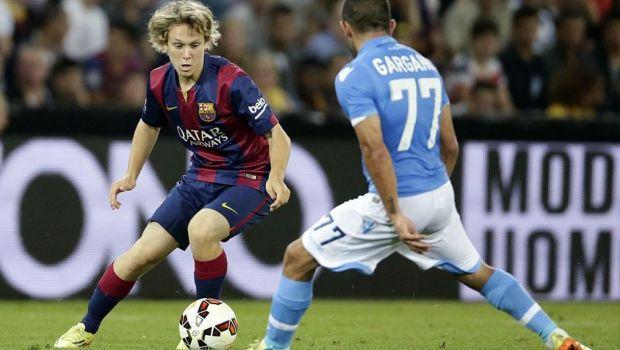 FCSB poate opri transferul unui fost jucator de la Barcelona! Mutarea pregatita pentru grupele Europa League
