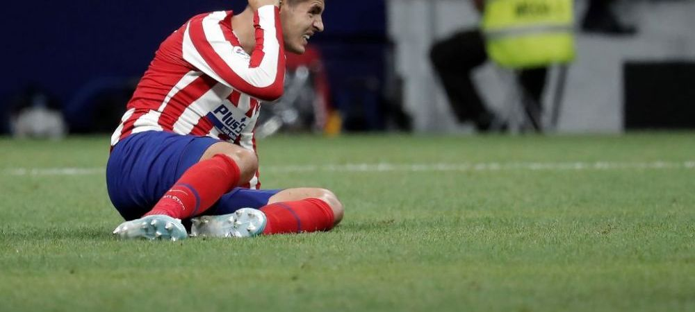 Lovitura pentru nationala Spaniei cu o saptamana inaintea meciului cu Romania! Morata s-a accidentat la genunchi si rateaza meciul: cine ii ia locul