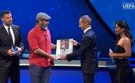 "Cantona, premiat de presedintele UEFA la Monaco! ""E singurul premiu pentru care nu trebuie sa intreb nimic pe nimeni!"""
