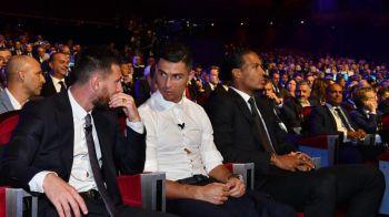 """Am impartit scena cu el timp de 15 ani, nu stiu daca s-a mai intamplat vreodata asa ceva! N-am luat inca cina impreuna, sper s-o facem!"" Dialog fantastic intre Messi si Ronaldo la gala UEFA"