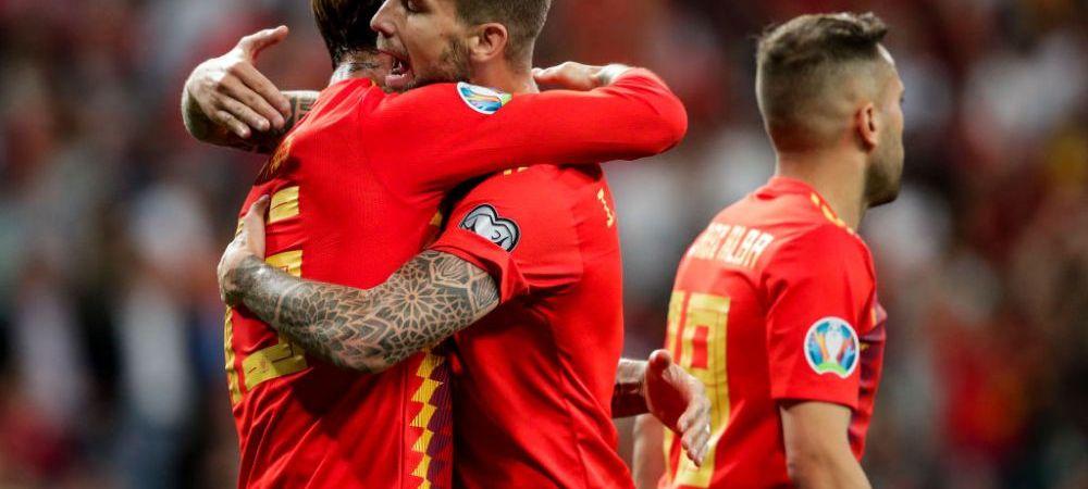 Vin la Bucuresti cu Ramos, Alba si Thiago Alcantara! Lista jucatorilor convocati de Spania pentru meciul cu Romania