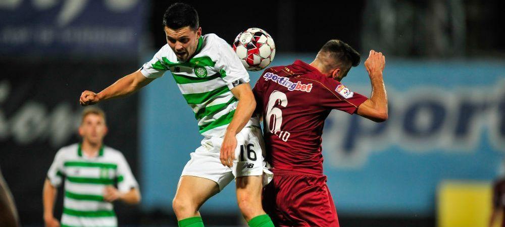 """Scotienii, in al noualea cer dupa ce au aflat ca sunt in grupa cu CFR Cluj: """"E extraordinar!"""" Antrenorul lui Celtic vrea revansa in fata echipei lui Dan Petrescu"""