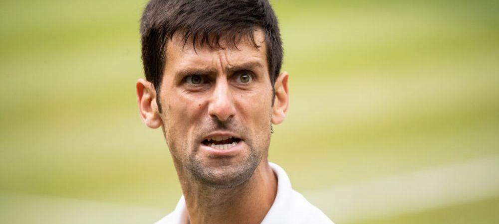 """Novak Djokovic, scos din sarite de un fan la US Open: """"Crede-ma, vin sa te gasesc!"""" Kyrgios nu s-a putut abtine si i-a raspuns sarbului"""