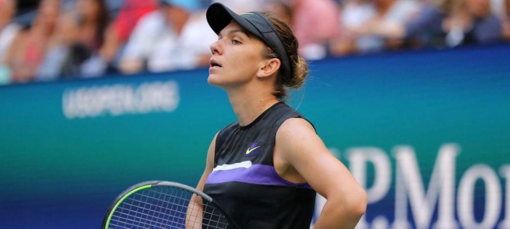 Inca o veste proasta pentru Simona Halep! Amenda primita din partea organizatorilor US Open: gestul pentru care a fost sanctionata